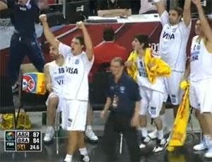 basquete argeentina