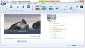 Windows Live Movie Maker é gratuito e parte integrante da suíte Live ou do Windows XP. (Foto: Reprodução)