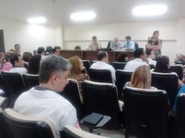 Reunião aconteceu no auditório do novo Trauma de Campina Grande.