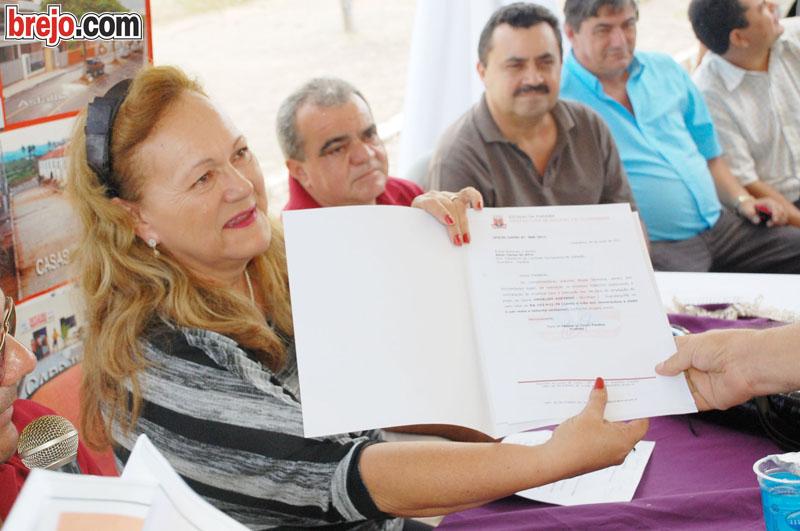 Prefeita Fátima Paulino no programa Gente que Faz Cidade que Cresce
