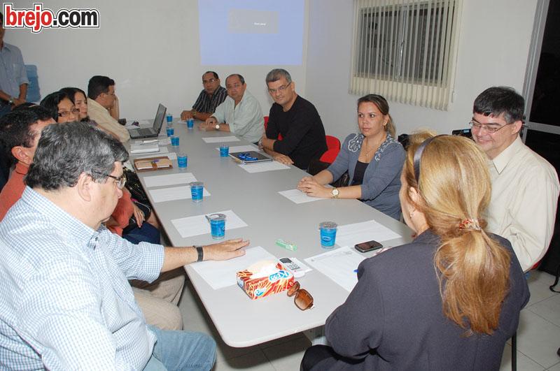 Reunião da Prefeitura e IFPB sobre cursos que serão implantados