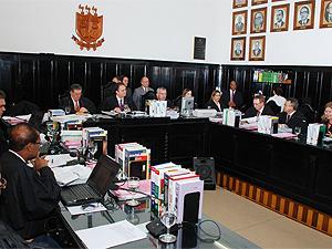 Pleno do Tribunal de Justiça da Paraíba julga leis municipais (Foto: Divulgação/TJPB)