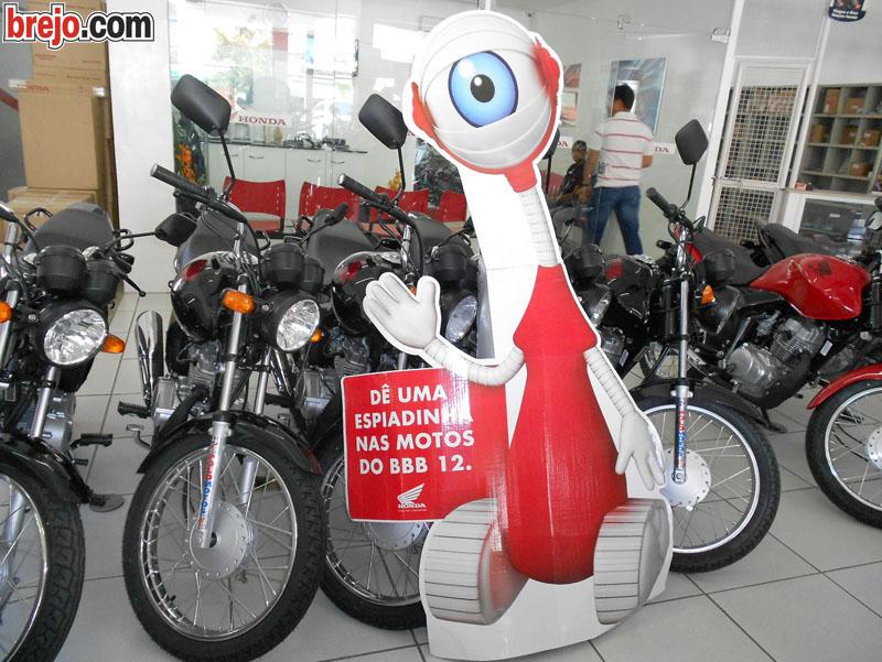 Polo Motos – Dê uma espiadinha nas motos do BBB 12