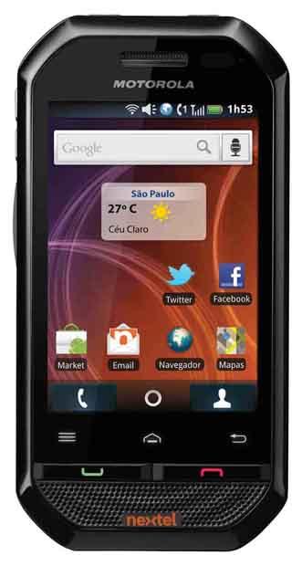 9a9b8900f40e3 Motorola i867, com Android e PTT, chega ao Brasil – brejo.com