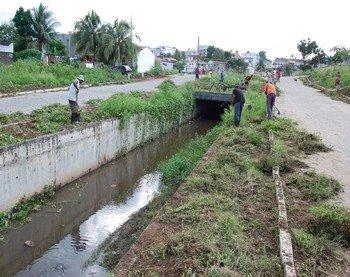 Meio Ambiente de Guarabira realiza ações no Canal do Juá