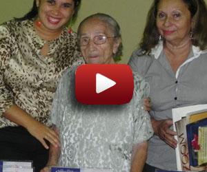 Maria Eulália comemora seus 100 anos