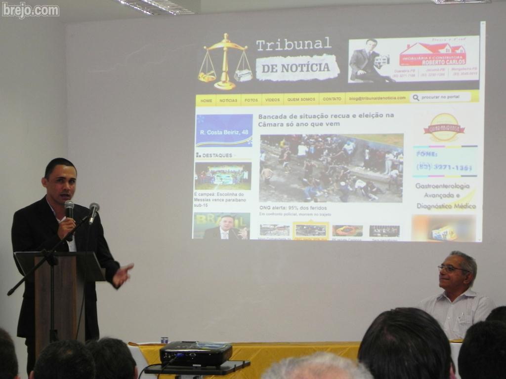 FOTOS: Confira o lançamento do blog Tribunal de Notícia de Fabiano Lima