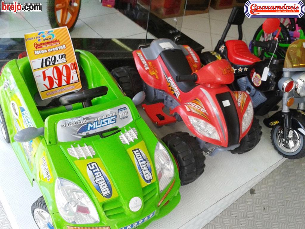 Guaramóveis traz grande sortimento de brinquedos para o Dia das Crianças 2013