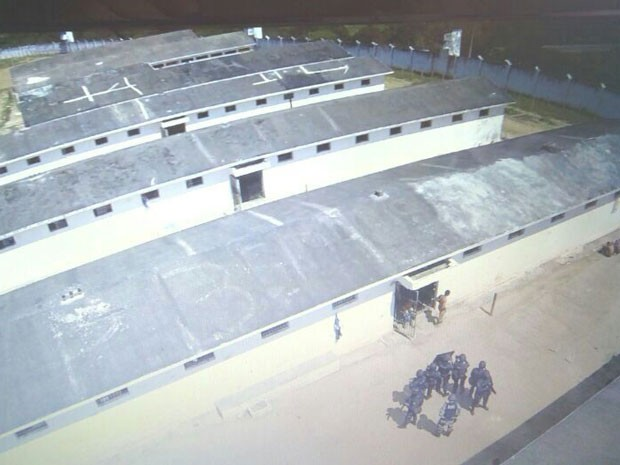 Drone está sendo utilizado para fiscalizar presídios na Paraíba (Foto: Divulgação/Seap)