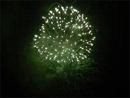 Fogos de reveillon em Guarabira