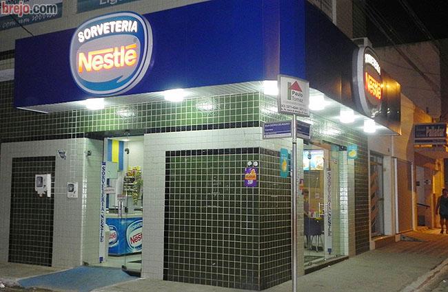 Neste verão tome sorvete na Sorveteria Nestlê