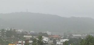 Previsão da Aesa é de chuvas isoladas no Brejo e Agreste paraibano