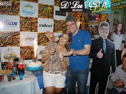Festa da Luz 2014, dia 01: Eduardo da DLu Modas comemora formatura