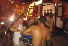 Motociclista colide com ônibus escolar em Guarabira