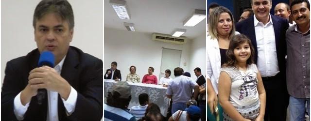 Cássio concede entrevista coletiva em Guarabira antes de realizar palestra em congresso na UEPB