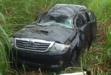 Acidente grave na PB-105 deixa três pessoas feridas