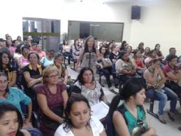Docentes da rede municipal participam de formação continuada sobre inclusão de alunos com deficiência
