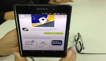 Eleitor pode consultar local de voto e acompanhar apuração através de aplicativo gratuito