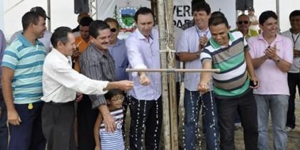Governo do Estado inaugura nova adutora do município de Sertãozinho