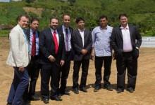 Ministro visita área que vai receber complexo de piscicultura no Brejo da PB