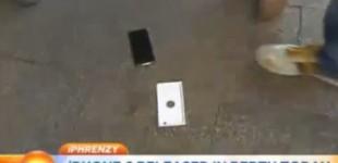 Primeira pessoa a comprar iPhone 6 derruba o aparelho; assista