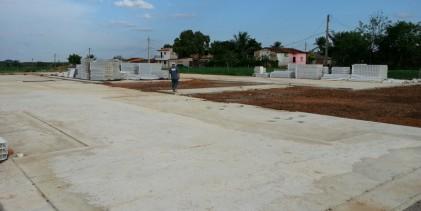 Obras de construção da creche modelo no Conjunto Mutirão segue em ritmo acelerado. Prédio atenderá 250 crianças