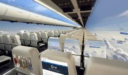 Avião sem janelas será uma realidade nos próximos dez anos