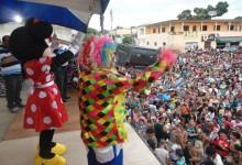 Prefeitura promove maior festa das crianças da história com presença de público e sorteio de 200 bicicletas