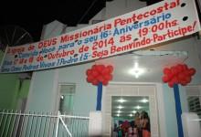 Guarabira: Igreja comemora 16 anos de fundação
