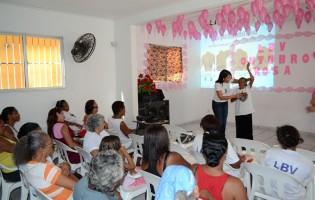 Outubro Rosa: LBV apoia iniciativa e conscientiza mulheres sobre o câncer de mama