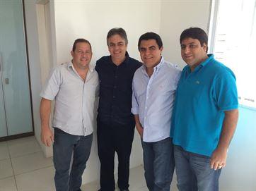 Prefeito do PMDB anuncia adesão à campanha de Cássio Cunha Lima