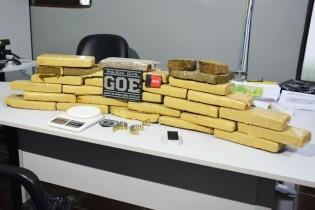 Polícia encontra 20 kg de maconha que teriam saído de Guarabira