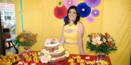 Veja o aniversário de Marcela Uchoa