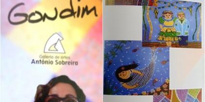 """NESTA QUINTA: Prefeitura abre exposição """"O Naif de Célia Godim"""", na Galeria de Arte Antônio Sobreira"""