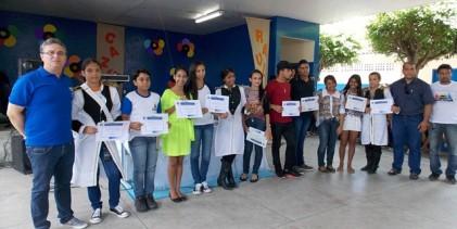 Centro Educacional Osmar de Aquino realiza culminância das atividades desempenhadas em 2014