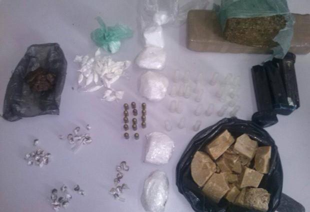 Operação 'São Nicolau' apreende drogas e armas no Brejo paraibano