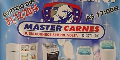 Master Carnes lança promoção Show de Prêmios de final de ano