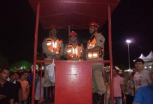 Em Guarabira: Tranquilidade na primeira noite da Festa da Luz