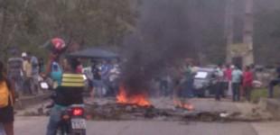 Protesto bloqueia Rodovia entre Cuitegi e Pilões, no Brejo