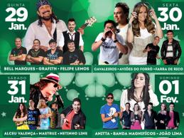 Festa da Luz 2015: atrações do palco principal oficialmente confirmadas; confira