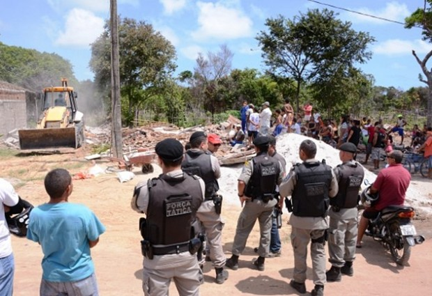 PM realiza reintegração de posse de forma pacífica na Zona Sul de JP