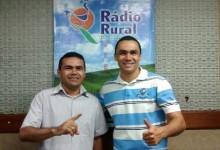 Fabiano Lima e Jota Alves nos finais de tardes na Rural