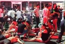 Acidente de ônibus deixa 59 feridos em JP; criança e adolescente estão em estado grave