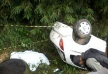 Acidente automobilístico entre Pilões e Areia deixa uma vítima fatal
