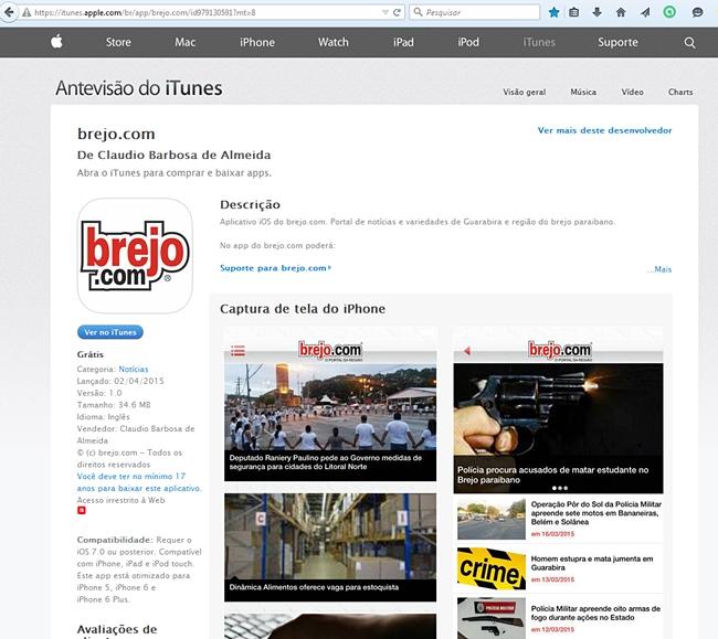 brejo.com_na_AppStore