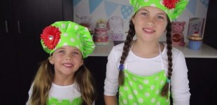 Irmãs de 8 e 5 anos faturam R$ 386 mil por mês com canal de culinária no YouTube