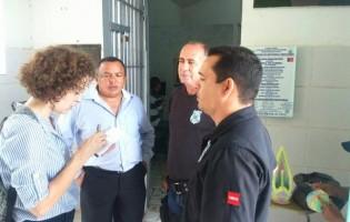 Jornalista americana visita presídio de Sapé e conhece projetos de ressocialização implantados pela direção