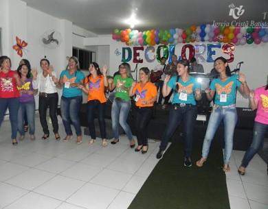 Igreja Cristã Batista de Guarabira recebe as cursilhistas em grande festa