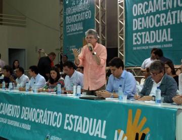 Nesta sexta: governador vem ao Brejo, entrega obras e participa de plenária do ODE em Guarabira