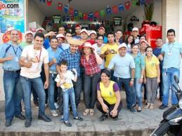Supermercado São Manoel comemora mais um aniversário; veja as fotos